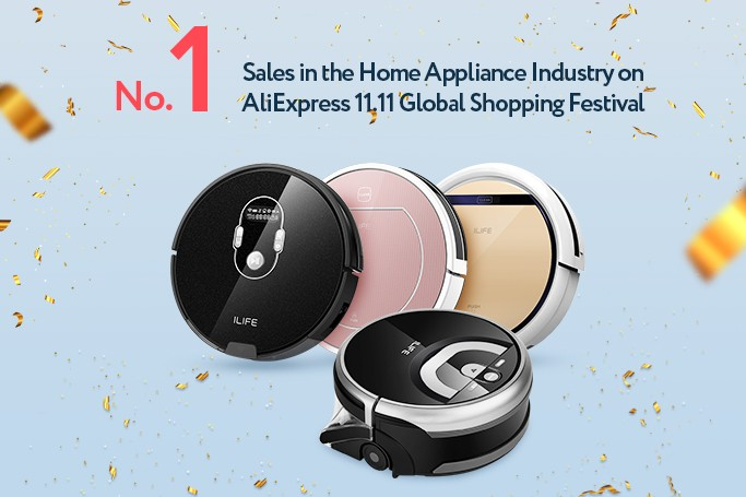 AliExpress No.1 Sales in Home Appliance Industry