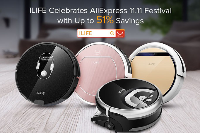 ILIFE's Best Deals Start Now to Celebrate AliExpress 11.11 Global Shopping Festival